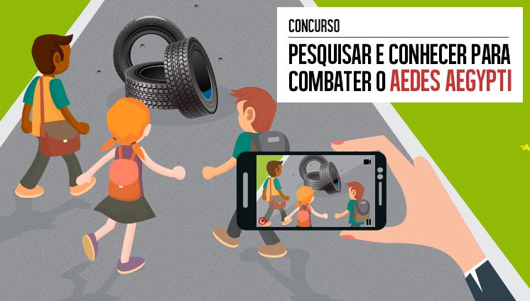 Alunos do Campus Guarapari têm vídeo finalista em concurso do Zika Zero