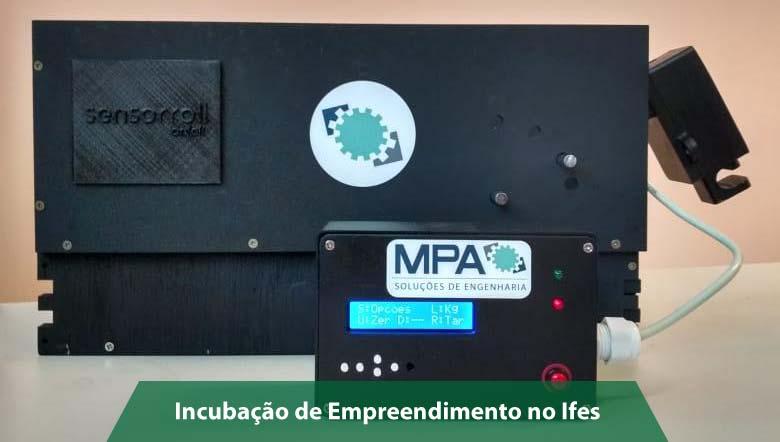 Empresa incubada no Ifes desenvolve solução para pesagem de carga