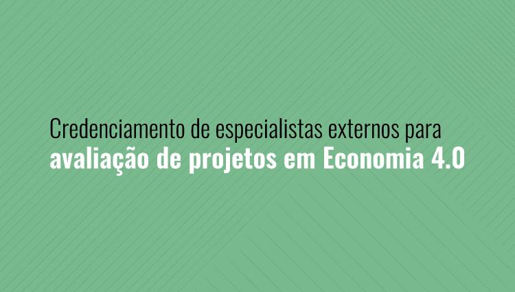 Ifes credencia especialistas externos para avaliação de projetos em Economia 4.0