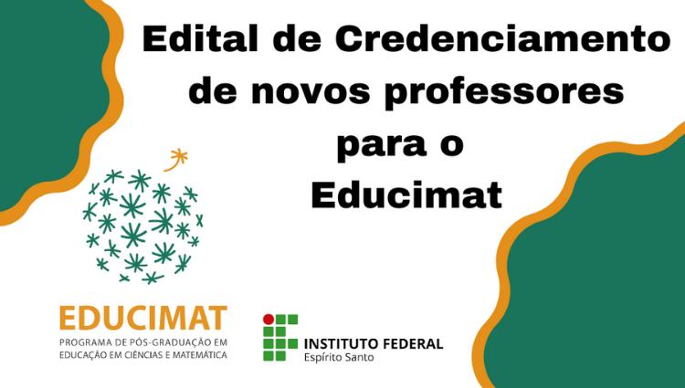 Programa de Pós-graduação em Educação em Ciências e Matemática credencia novos docentes