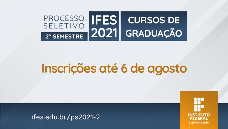 Ifes oferta 286 vagas em cursos de graduação pelo Sisu