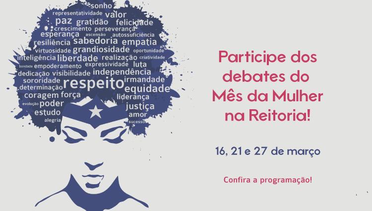 Debate na Reitoria abordará igualdade de direitos nesta quarta-feira (21)