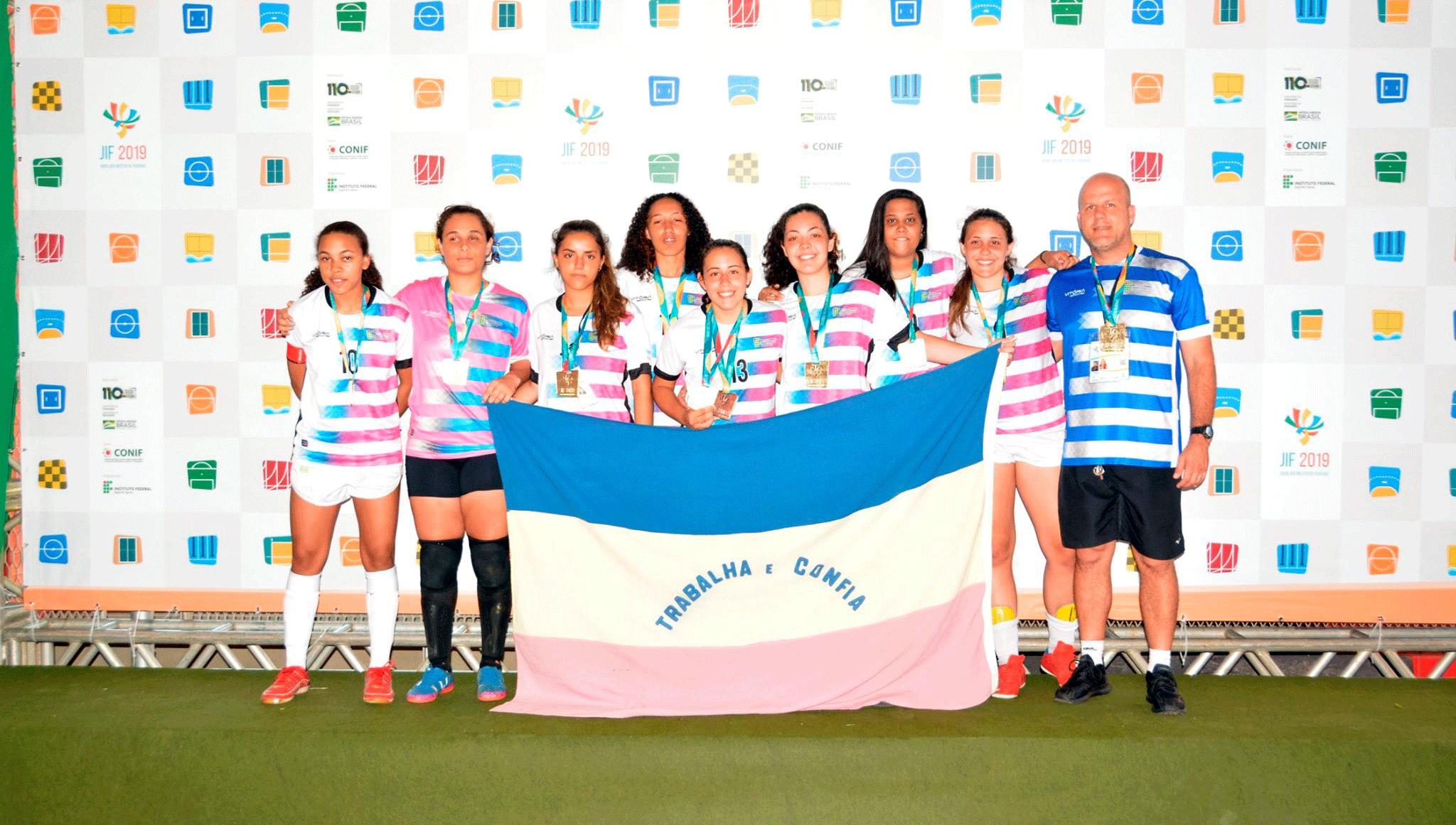 Atletas do Ifes conquistam medalhas e troféus em nove modalidades no JIF 2019